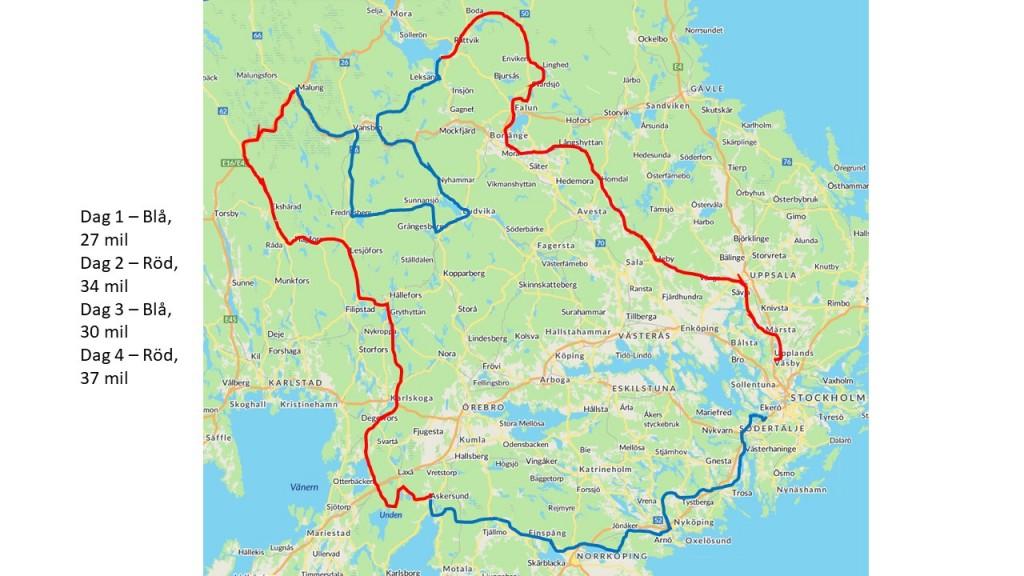 Karta 4-dagars 2019 - 181024